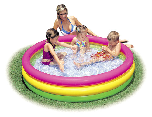 Intex Sunset Glow Kiddie Pool Review