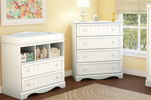 South Shore Savannah 2-Drawer Changing Table Review