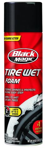 Black Magic Tire Wet Foam Review