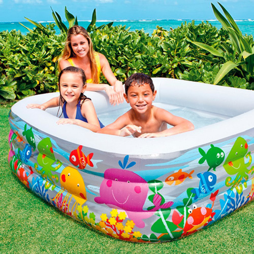 Intex Swim Center Clearview Aquarium Inflatable Pool Review
