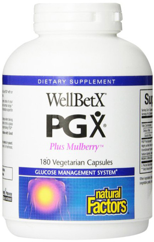 Natural Factors Brand Wellbetx PGX Plus Mulberry Review