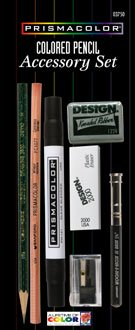 6. Sanford Prismacolor Colored Pencil Accessory Set