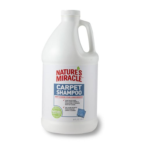 Nature's miracle stain and odor remover carpet shampoo Review