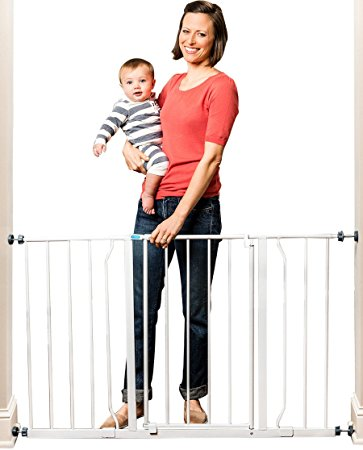 Regalo Easy Open 50 Inch Wide Baby Gate Review