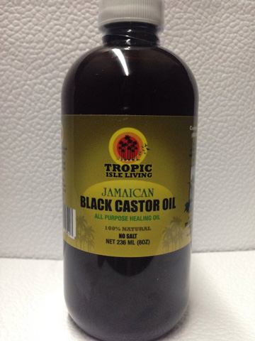 Tropic Isle Living- Jamaican Black Castor Oil-8oz Plastic PET Bottle Review