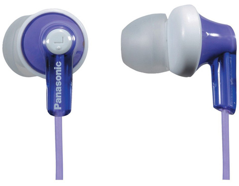Panasonic ErgoFit Best in Class In-ear Earbud Headphones Review