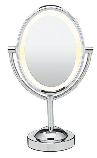 Conair Oval Shaped Double-Sided Lighted Makeup Mirror Review