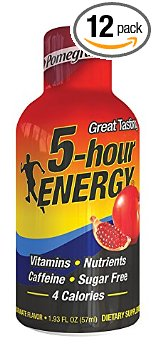 5 Hour Energy Energy Shots Review