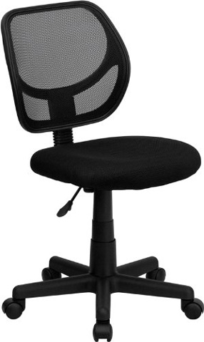 Flash Furniture Mid-Back Black Mesh Swivel Task Chair Review