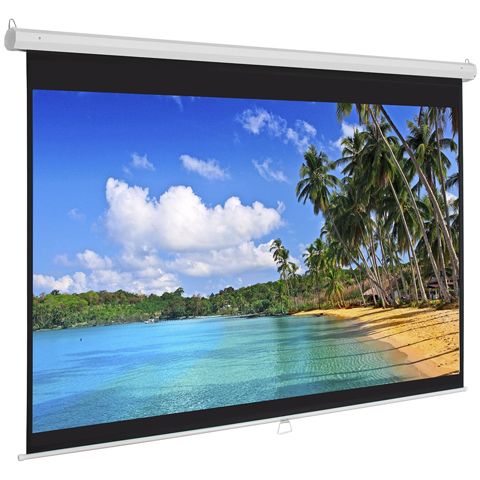 Best Choice Products Manual Projector Projection Screen Review