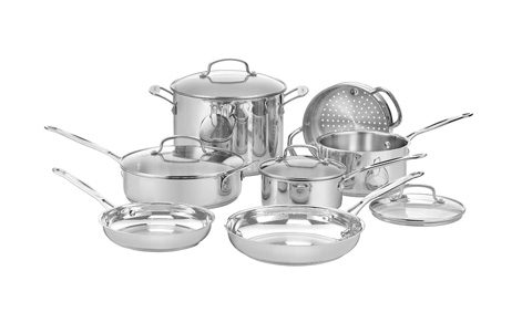 Cuisinart 77-11GChef's Classic Stainless Cookware Set Review