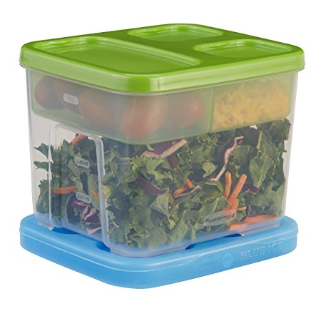 Rubbermaid Lunch Box Container Salad Kit Review