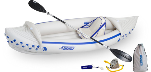 Sea Eagle SE330 Inflatable Sports Kayak Pro