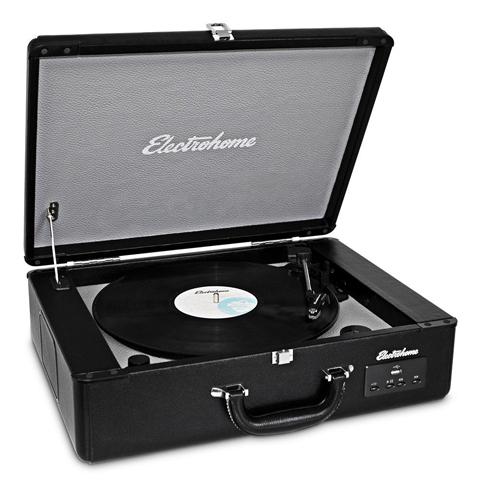 Electrohome Archer Vinyl Record Player Classic Turntable Stereo Review