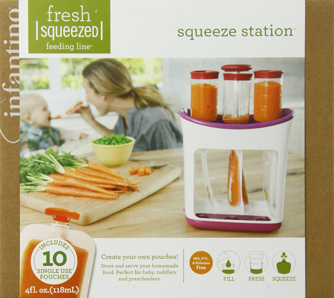 Infantino Squeeze Station Review