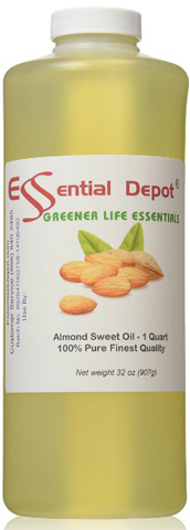 Essential Depot Almond Oil Sweet Oil Review