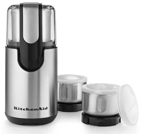 KitchenAid BCG211OB Blade Coffee and Spice Grinder Combo Pack Review