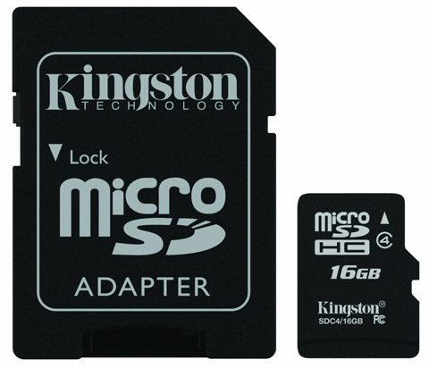 Kingston Digital 16 GB Class 4 microSDHC Review
