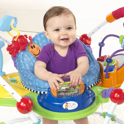 Baby Einstein Musical Motion Activity Jumper Review