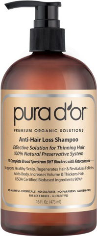 PURA D'OR Anti-Hair Loss Premium Organic Argan Oil Shampoo Review
