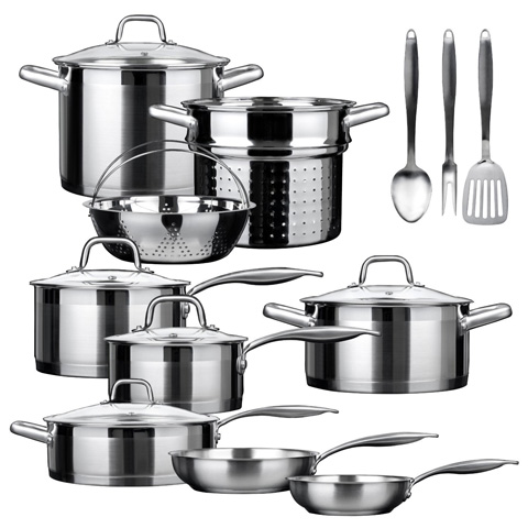 Duxtop SSIB-17 Professional Cookware Set Review