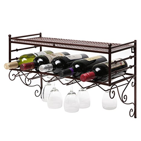 Best Wall Mounted Wine Rack Systems Reviiewes