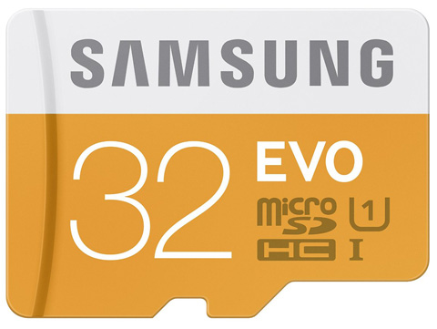 Samsung EVO 32GB Micro SDHC Card Review