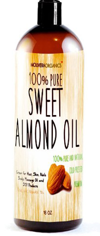 Molivera Organics Sweet Almond Oil Review