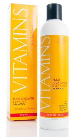 Nourish Beaute VITAMINS Shampoo for Hair Loss- 121% Growth and 47% Less Thinning Review