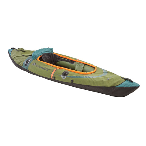 Coleman Sevylor 24-Gauge K5 Hot Fish Inflatable Single-Seater Kayak