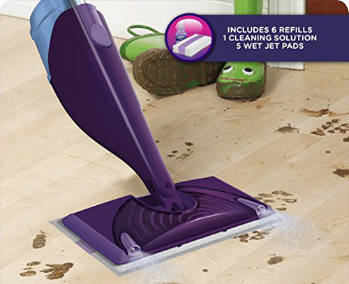 Swiffer WetJet Hardwood Mop Review