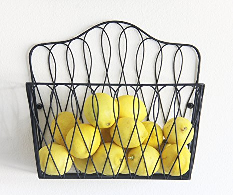 Magazine Rack Fruit Basket Review