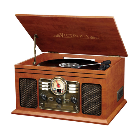 Victrola Nostalgic Classic Wood 6-in-1 Bluetooth Turntable Review