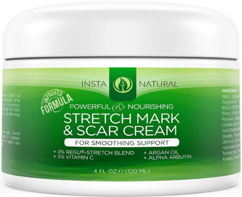 InstaNatural Stretch and Scar Cream-Formula Review