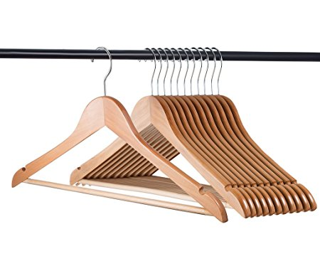 Home-it Natural wood hangers Review