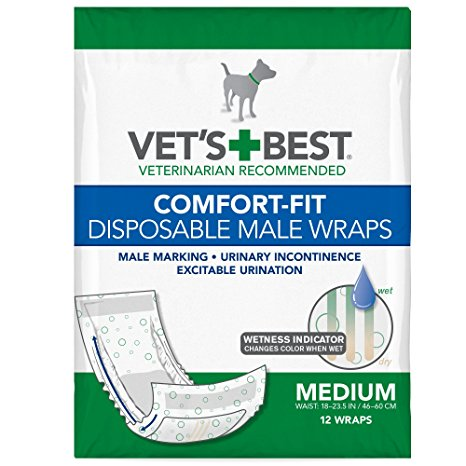 Vet's best comfort fit disposable male wrap Review
