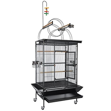 Yescom Large parrot bird flight finch cage Review
