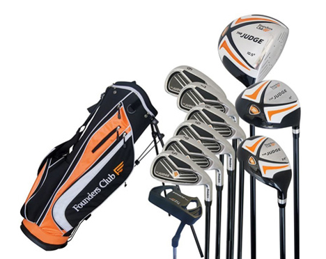 The Judge Mens Complete Golf Set Review