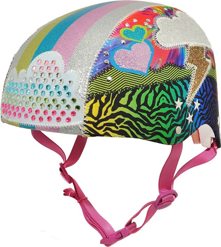 Raskullz Girls Love Sparklez Bike Helmet Review