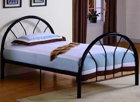 Roundhill Furniture Belledica Metal Bed Set Review