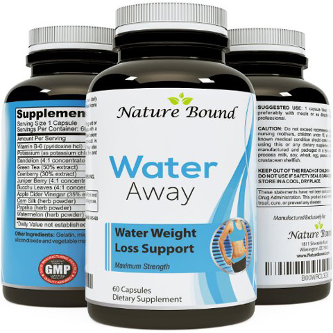 Nature Bound Pure and Potent Water Pills Review