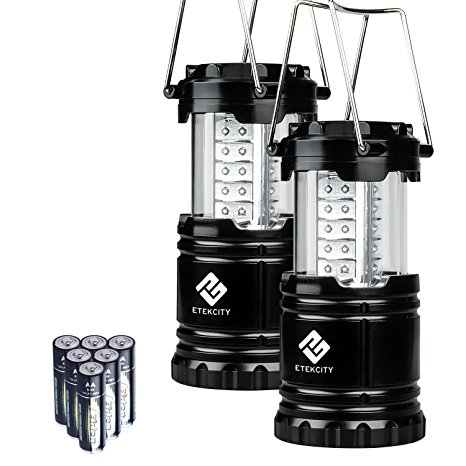 Etekcity 2 Pack Portable Outdoor LED Camping Lantern Flashlights Review