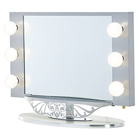 Vanity Girl Hollywood Starlet Lighted Make-Up Vanity Mirror Review