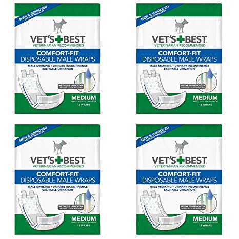 Vet's Best Comfort-fit Disposable Male Wrap Review