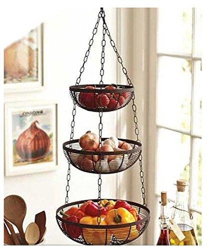 Useful. 3 Tier Hanging Fruit Basket Review