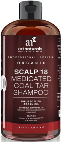 ArtNaturals Scalp18 Coal Tar Therapeutic Anti Dandruff Shampoo Review