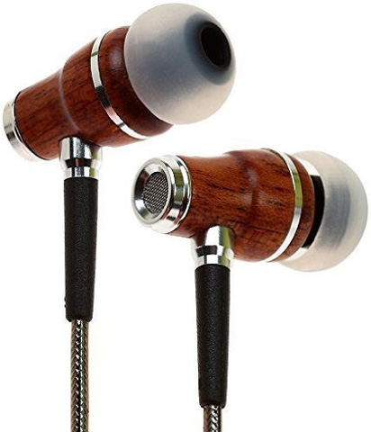 Symphonized NRG Premium Genuine Wood In-ear Noise Isolating Earbud Headphones Review