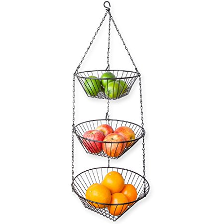 Home Basics 3-Tier Wire Hanging Basket Review