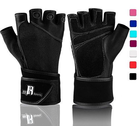 Weight Lifting Gloves With Wrist Wrap Review