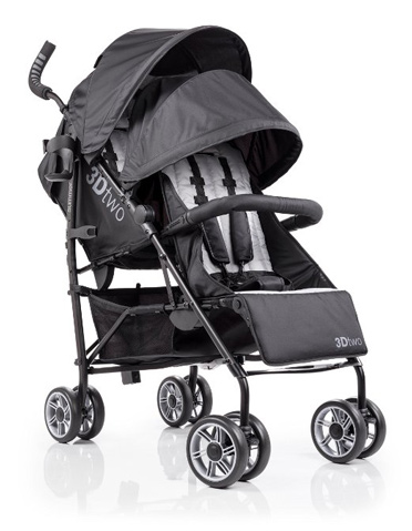 3D Two Double Convenience Stroller Review